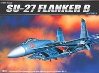 Academy SU-27 Flanker B 1/48 Model Kit