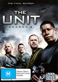 The Unit - Season 4 (6 Disc Set) on DVD