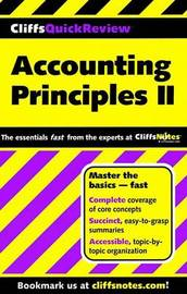 CliffsQuickReview Accounting Principles II by Elizabeth A Minbiole