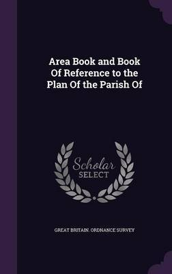 Area Book and Book of Reference to the Plan of the Parish of image