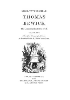 Thomas Bewick: The Complete Illustrative Work by Nigel Tattersfield image