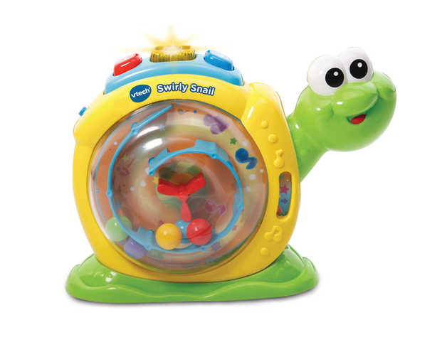 Vtech: Swirly Snail - Pop & Spin Toy