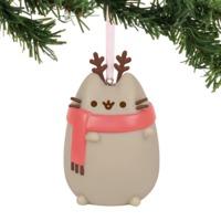 Xmas Pvc Hanging Ornament Pusheen Reindeer