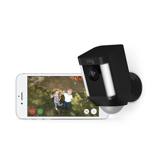 Ring: Spotlight Camera with Battery - Black