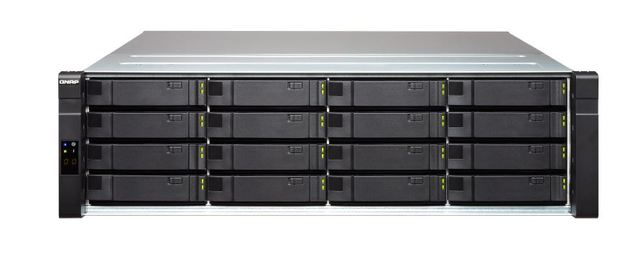 Qnap Ej1600-V2 Nas, 16-Bay (No Disk), Sas 12Gb/S Jbod For Zfs, 2 Mini-Sas Sff-8644 (Per Controller),Rp, With Rail Kit