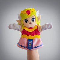 "Legend of Zelda: Princess Zelda - 10"" Plush Puppet"
