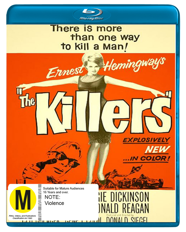 The Killers on Blu-ray