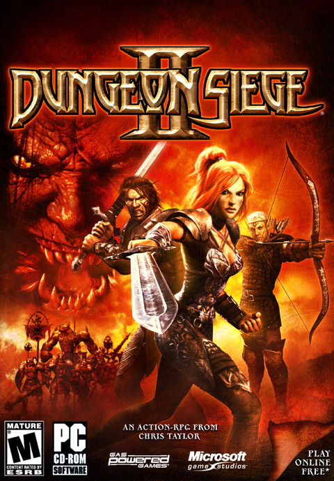 Dungeon Siege II for PC Games