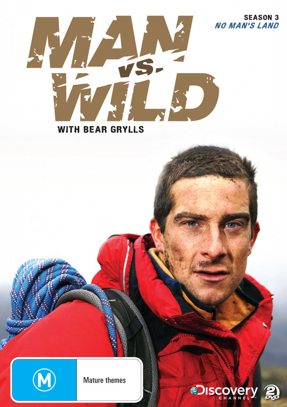 Man vs Wild - Season 3 Collection 1: No Man's Land on DVD