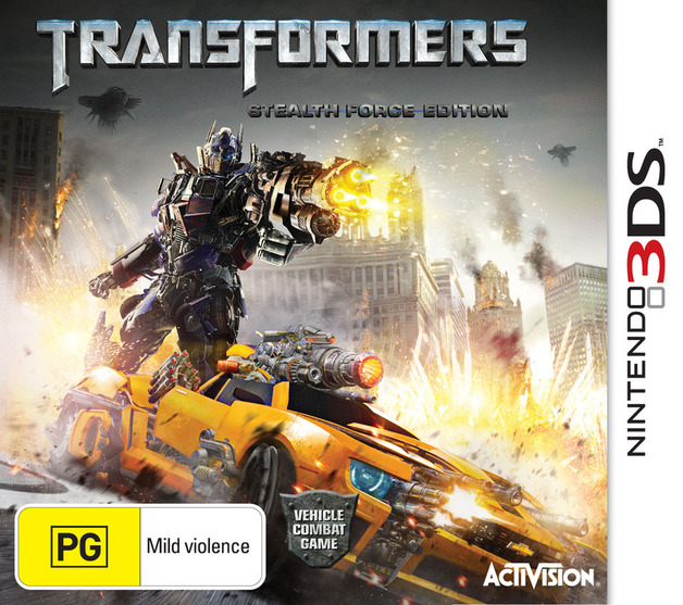 Transformers: Dark of the Moon for 3DS