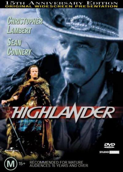 Highlander: 15th Anniversary on DVD