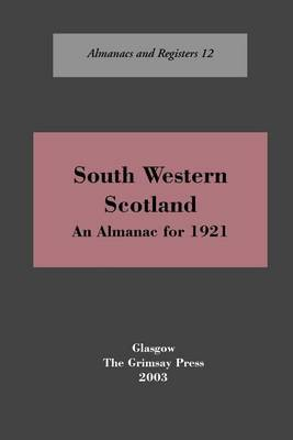 South-west Scotland by Oliver And Boyd