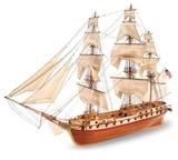 USS Constellation Wooden Ship Model Kit
