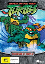 Teenage Mutant Ninja Turtles (2003) - Season 3: Box 2 (3 Disc Box Set) on DVD