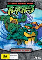 Teenage Mutant Ninja Turtles (2003) - Season 3: Box 2 (3 Disc Box Set) on DVD