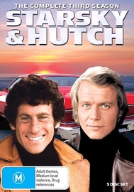 Starsky & Hutch (Season 3) on DVD