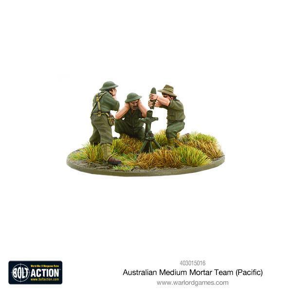 Australian Medium Mortar Team (Pacific) image