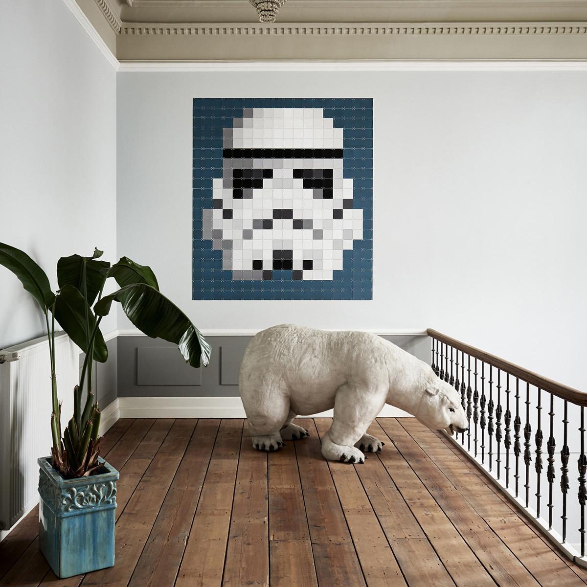 Ixxi: Star Wars Stormtrooper Pixel Wall Art - 180cm X 200cm image