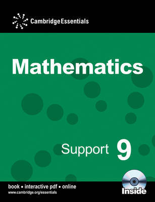 Cambridge Essentials Mathematics Support 9 Pupil's Book: Year 9 by Graham Newman image