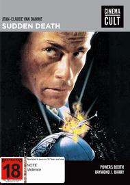 Sudden Death (Cinema Cult) on DVD image