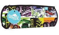Spencil: Big Wheels II - Barrel Pencil Case