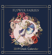 Caroline Gardner: Flower Fairies 2019 Desk Calendar image