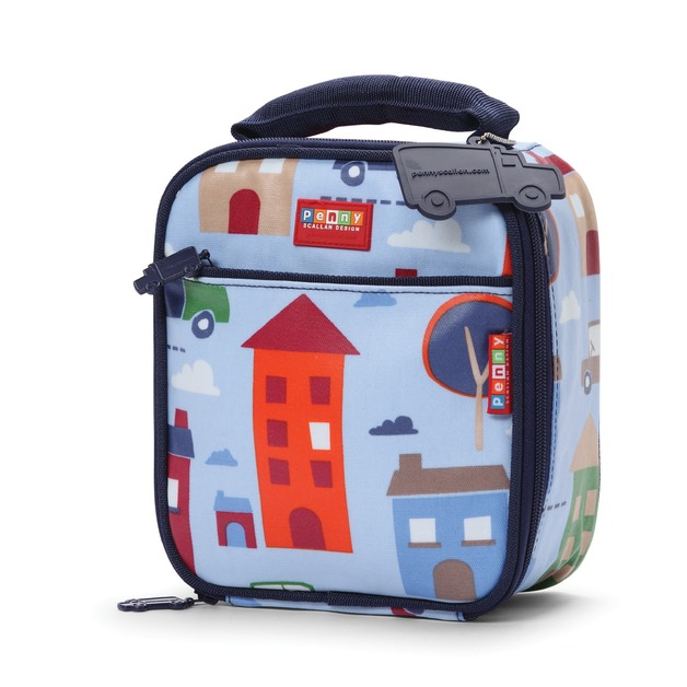 Big City School Lunchbox