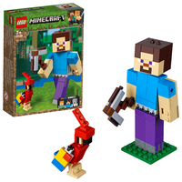 LEGO Minecraft - Steve BigFig with Parrot (21148)