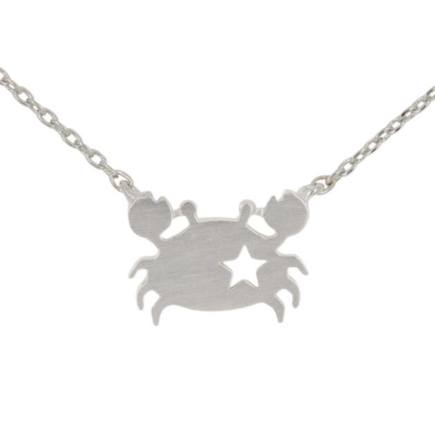 Short Story: Crab Necklace - Silver