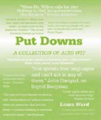 Book of Put Downs by Laura Ward image