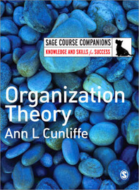 Organization Theory by Ann L. Cunliffe image