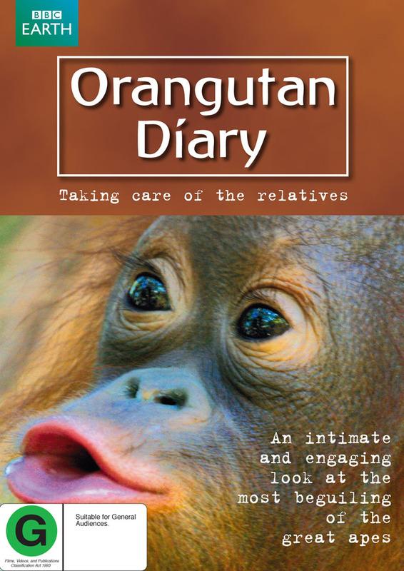 Orangutan Diary on DVD