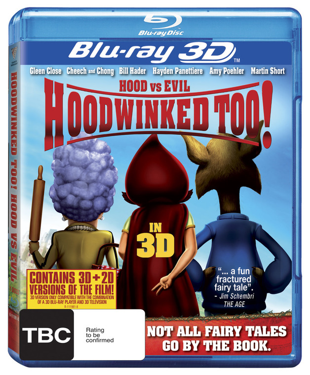 Hoodwinked Too! Hood vs. Evil (3D & 2D Blu-ray) on Blu-ray