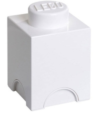 LEGO Storage Brick 1 (White)