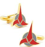 Star Trek Cufflinks - Klingon Logo