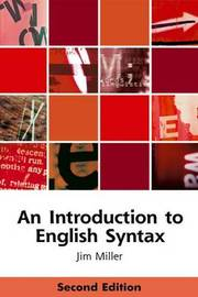 An Introduction to English Syntax by Jim Miller