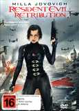 Resident Evil: Retribution on DVD