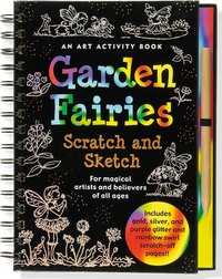 Sketch and Scratch Flower Fairies Art Activity Book by Peter Pauper Press