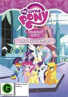 My Little Pony: Friendship is Magic - The Crystal Empire on DVD image
