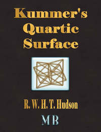 Kummer's Quartic Surface by R.W.H.T. Hudson image