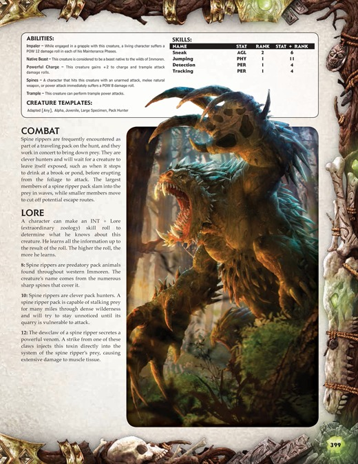 Iron kingdoms rpg unleashed core rulebook at mighty for Bureau 13 rpg pdf