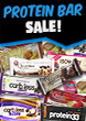 Up to 50% off Protein Bars & RTD's