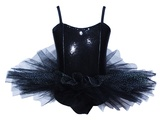 Pink Poppy: My Ballet Tutu Dress (Size 3/4) - Black