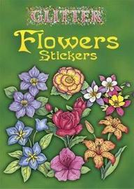 Glitter Flowers Stickers by Charlene Tarbox