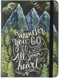 Wherever You Go, Go with All Your Heart Journal (Diary, Notebook) image