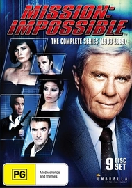 Mission Impossible: The Complete Series (1988-1989) on DVD