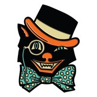 Creepy Co: Beistle Top Hat Cat Enamel Pin