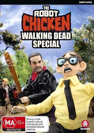 Robot Chicken Walking Dead Special on DVD