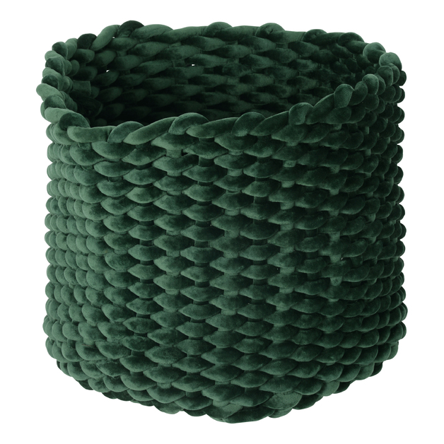 Moxy Velvet Pot Holder (Large) - Emerald
