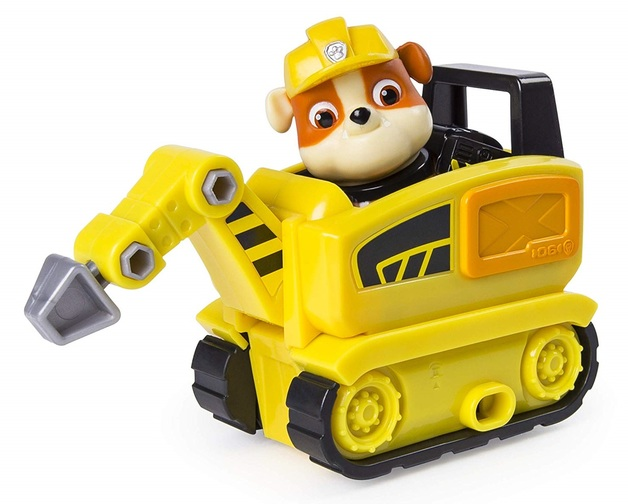 Paw Patrol: Mini Vehicles - (Rubble's Mini Jackhammer)